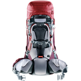 Deuter Aircontact Pro 55 + 15 SL Rygsæk Damer rød